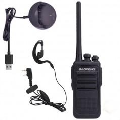 HANDY BAOFENG WALKIE TALKIE MINI SLIM BF-V3 N8 BFN8BLK5W UHF 5W 16 CANALES
