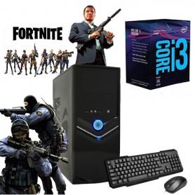 PC GAMER INTEL I3 8100 8va GEN 3.6GHZ MEMORIA DDR4 VIDEO INTEL INTEGRADO PC10