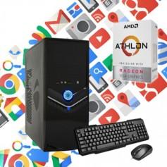 PC AMD ATHLON 200 3.2GHZ SSD 120GB 4GB DDR4 ATI R7 INTEGRADA PC5