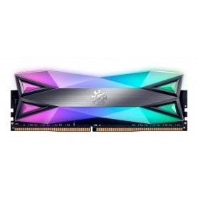 MEMORIA DDR4 16GB TITANIO ADATA 3000 MHZ XPG SPECTRE ULTRA RAPIDA RGB GAMER