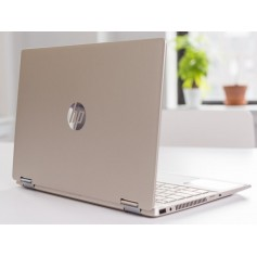 NOTEBOOK HP PAVILLON INTEL i5 X 360 2 IN 1 TOUCH SCREEN RAM 8GB 256 SSD PANTALLA 14 GOLD 14MDW0023DX
