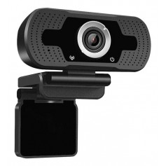 WEB CAM CAMARA WEB PC FULL HD 1080P MICROFONO ZOOM STREAMING LOOSAFE LS-F36 TRIPODE