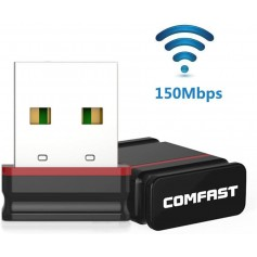 PLACA DE RED USB COMPAST CF-WU810N 150MBPS 2.4GHZ MINI NANO CHIPSET