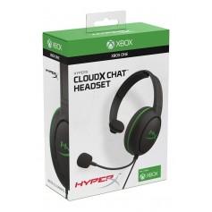 AURICULARES CON MICROFONO HEADSET GAMER HYPERX CLOUDX CHAT XBOX OFICIAL