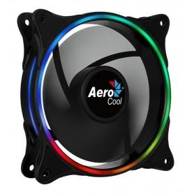 COOLER RGB FAN AEROCOOL ECLIPSE 120MM DUAL RING SILENCIOSO
