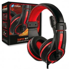AURICULAR NOGANET STORMER STONE GAMING ST-819 CON MIC PIN 3,5MM