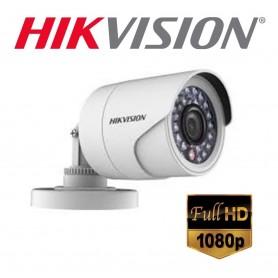 CAMARA HIKVISION DS-2CE16DOT-IRF/IF BULLET 1080P (1920x1080P) METALICA FULL HD IP66 16 D0T CVI VISION NOCTURNA LENTE 2.8MM