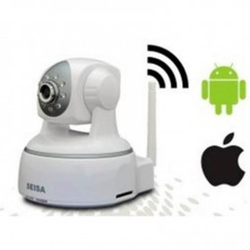 CAMARA IP WIFI PANTILT HD 720P CON MOVIMIENTO SEISA JK-H624GB
