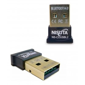 ADAPTADOR RECEPTOR BLUETOOTH 4.0 NISUTA PC NOTEBOOK ADAPTADOR BLUETOOTH NSCOUSBL