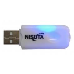 CONVERSOR USB A BLUETOOTH NISUTA CON MICROFONO IDEAL STEREO AUTO NSCOUSBL