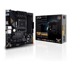 MOTHER ASUS TUF GAMING B550M-PLUS AMD AM4 M.2 PCIE 4.0 USB 3.2 TIPO A Y C AURA RGB HDMI DISPLAY PORT 4 DIMM DDR4 4000 MHZ