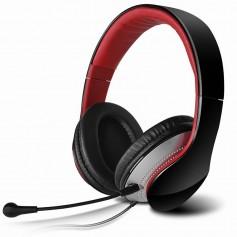 AURICULAR EDIFIER K830 PARA PC Y MP3 MICROFONO DESMONTABLE ROJO CON NEGRO