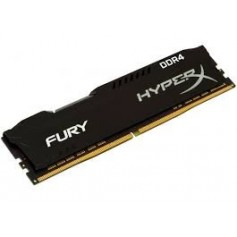 MEMORIA DDR4 8GB 2666MHZ HYPER X FURY GAMER BLACK HX426C16FB3/8