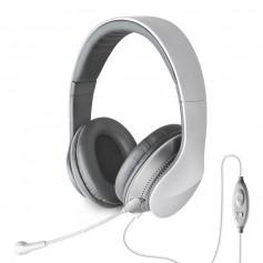 AURICULAR EDIFIER K830 PARA PC Y MP3 MICROFONO DESMONTABLE BLANCO Y GRIS