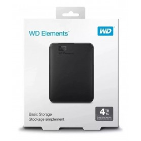 DISCO RIGIDO EXTERNO HD 4TB WD ELEMENTS USB 3.0