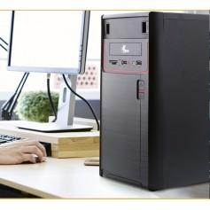 GABINETE PC XTECH ATX CON FUENTE 600W BLACK XTQ-100