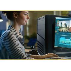 GABINETE PC XTECH ATX CON FUENTE 600W BLACK XTQ-200
