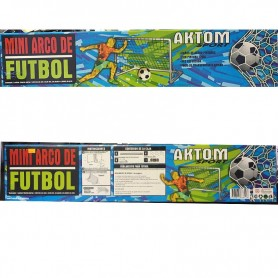 MINI ARCO FUTBOL METALICO 50cm x 80cm x 60cm CON RED
