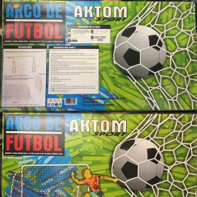MINI ARCO FUTBOL METALICO 1,5Mts x 2Mts x 40cm CON RED