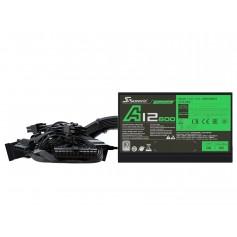 FUENTE PC SEASONIC 600W REALES A12-600 80+ WHITE CERTIFICADA GAMER