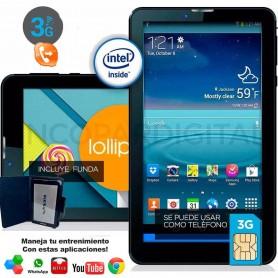 TABLET KELYX M7703G 7' INTEL ATOM X3 1GB RAM 16GB 3G GPS BLUETHOOT + FUNDA REGALO