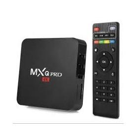 TV BOX MXQ PRO 4 CORE 4K UHD MULTIMEDIA MINI PC USB X3 HDMI 1GB RAM 8GB ROM
