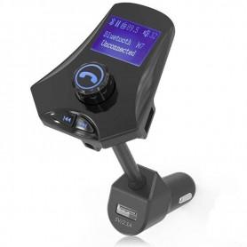 TRANSMISOR FM CON PANTALLA LCD REPRODUCTOR MP3 CON BLUETOOTH DAZA M7
