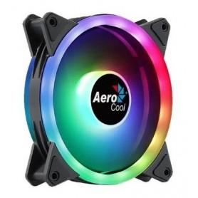 COOLER AEROCOOL FAN DUO 12 ARGB - DUAL RING RGB GAMER