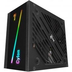 FUENTE PC AEROCOOL CYLON 500W RGB GAMER 80 PLUS BRONZE FULL RANGE