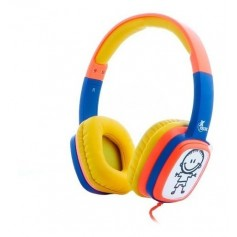 AURICULAR XTECH XTH-350OR SOUND ART KID CONTROL VOLUMEN YELLOW ORANGE AURICULAR INFANTIL