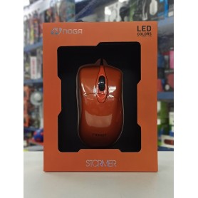 Mouse Gamer Con Cable Noga Stormer 2400Dpi 6 Botones St-400 Gaming