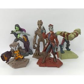 Figura Guardianes De La Galaxia X5 Personajes Coleccionable
