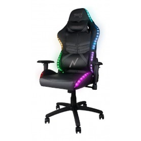 Silla Butaca Gamer Rgb Xbox Ps4 Pc Led Control Remoto Reclinable Noga Typhon Ajustable Gaming