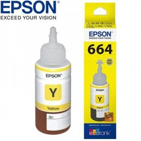 TINTA EPSON 664 T664420 AMARILLO 70ML ORIGINAL