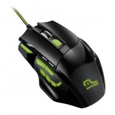 Mouse Gaming Warrior Fire 208 2400 Dpi Mouse Gamer Multilaser