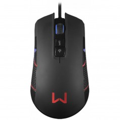 Mouse Gaming Warrior Perseus 275 Luz Led Rgb 4000 Dpi Mouse Gamer 9 Botones Multilaser