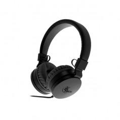 Auricular Vincha Xtech Xth-340 Alloy Headphone Black With Microphone Auricular Con Manos Libres