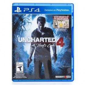JUEGO PS4 UNCHARTED 4 A THIEF'S END PLAYSTATION 4 FISICO