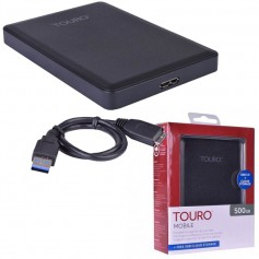 DISCO RIGIDO EXTERNO HD 500GB TOURO USB 3.0