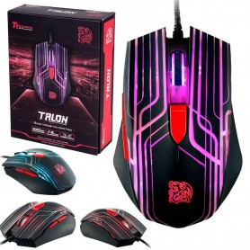 MOUSE GAMING TTESPORTS BY THERMALTAKE TALON 3000DPI 6 COLORES LED
