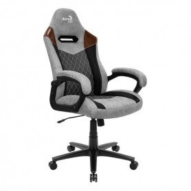 Silla Gamer Butaca Aerocool Duke Lite Ash/Tan Sillon Gaming Calidad Premium