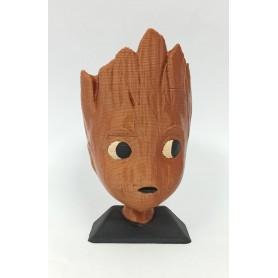 Figura Impresa 3D Groot Chico 10Cm