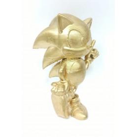 Figura Impresa 3D Sonic Gold Edition