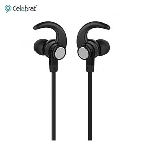 Auricular In Ear Bluetooth Celebrat Wireless Earphones Magnetico A7 Magnetic Suction Black