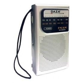 Radio Portatil Daza Analogica Parlante Auriculares Am y Fm a Pilas