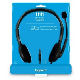 Auricular Vincha Con Microfono Logitech H111 Jack 3.5Mm Ps4 Headset