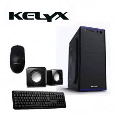 Kit Kelyx Gabinete Con Fuente 500W Lc727-14 t/m/p/c Reader