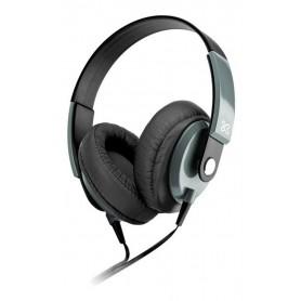 Auriculares Klip Xtreme Obsession Negro Khs-550bk Con Micrófono Jack 3.5mm