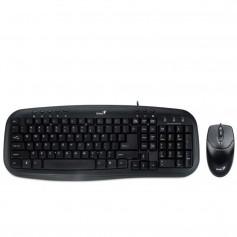 Combo Teclado Y Mouse Genius Smart Km-200 Español Negro Usb
