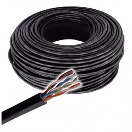 cable red utp exterior x1 mts categoria 6